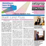 DRUCKFRISCH: eloprop präsentiert erste Ausgabe der »DEPESCHE«